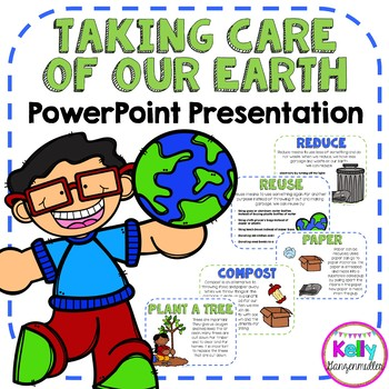"""Earth Day """"Taking Care of Our Earth"""" PowerPoint presentation"""