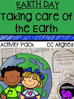 Earth Day Taking Care of the Earth Activity Pack