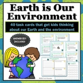 Earth and Environment - Our Great Big Earth Science Task Cards