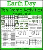 Earth Day Ten Frame Activities (1-20)