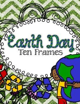 Earth Day Ten Frame FREEBIE!