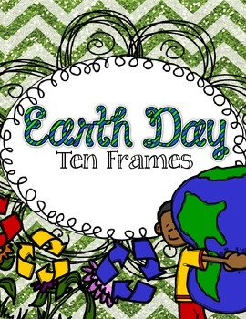 Earth Day Ten Frame FREEBIE!