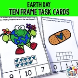 Earth Day Math Task Cards, Counting Ten Frames