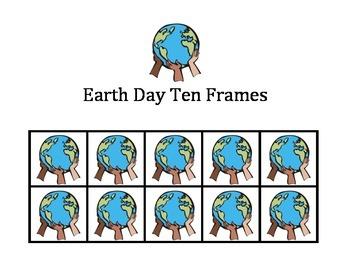 Earth Day Ten Frames