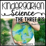 Earth Day (The Three R's) Kindergarten Science NGSS