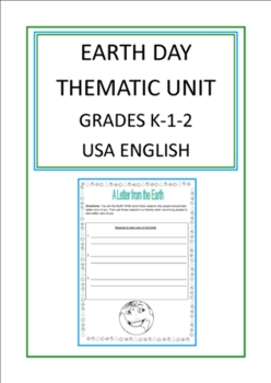 Earth Day Thematic Unit (Primary) for Very Busy Teachers