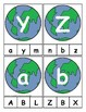 Earth Day Themed Alphabet Clip Cards