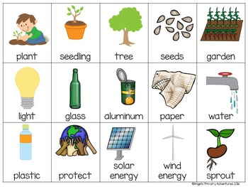 Earth Day Themed Bingo Game