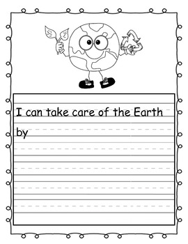 Earth Day Themed Common Core NO PREP ELA and Math Aligned Packet