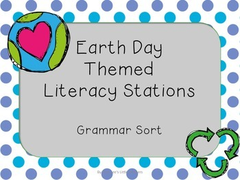 Earth Day Themed Grammar Station