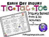 Earth Day Tic Tac Toe Inquiry Activity