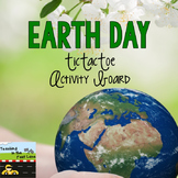 Earth Day TicTacToe Choice Menu