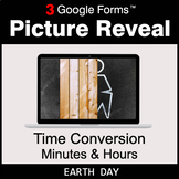 Earth Day: Time Conversion: Minutes & Hours - Google Forms