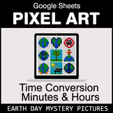Earth Day: Time Conversion: Minutes & Hours - Google Sheet