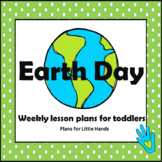 Earth Day Toddler Lesson Plan