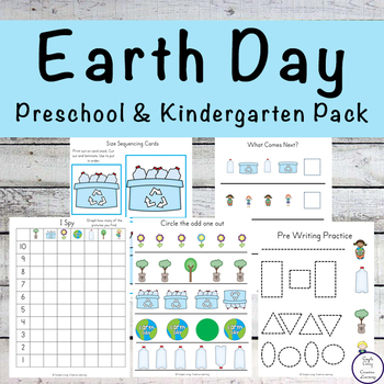Earth Day Tots to Prep Pack