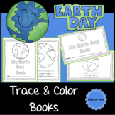 Earth Day Trace & Color Book Distance Learning