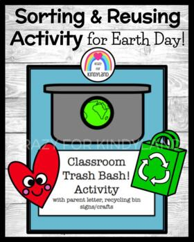 Earth Day: Trash Bash Activity FREEBIE and PREVIEW