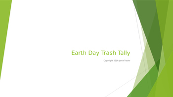 Earth Day Trashy Tally