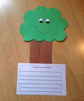 Earth Day Tree Craft and Writing