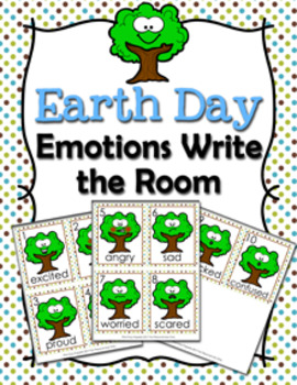 Earth Day Trees Emotions Write the Room