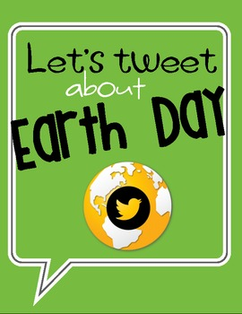 Earth Day Tweets - Paper Twitter & Instagram Task