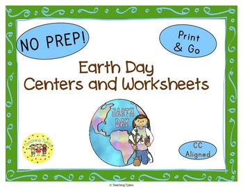 Earth Day Worksheets Activities Games Printables and More