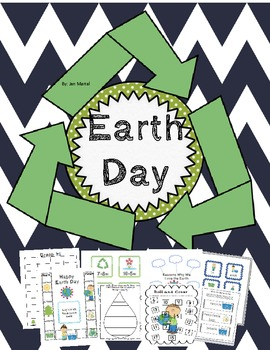 Earth Day Unit (Common Core Aligned Literacy and Math Acti