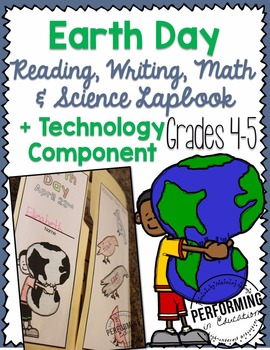 Earth Day Close Reading, Math, Science 4th & 5th
