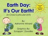 Earth Day Unit (Science, Math, and Reading) for First, Sec
