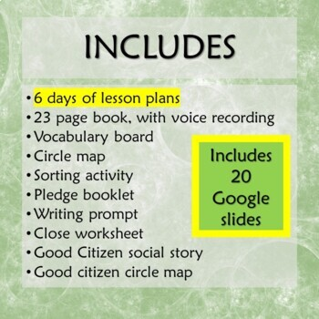 Earth Day Unit for Special Education with complete lesson plans