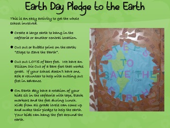 Earth Day Unit in a Day