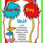 Earth Day Unit with Literacy & Math Centers