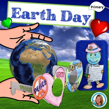 Earth Day Activities Kindergarten, 1st grade Unit with Opinion Writing, Crafts