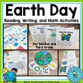 Earth Day Unit with interactive notebooks, mini books, worksheets