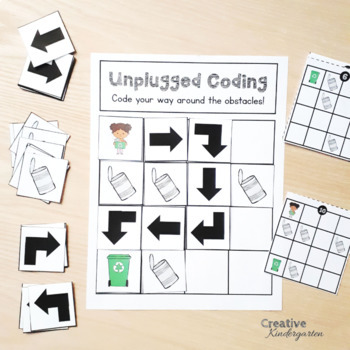 Earth Day Unplugged Coding Activity for Beginners