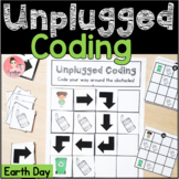 Earth Day Unplugged Coding Activity for Beginners (English