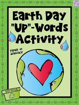 "Earth Day ""Up-Words"" Word Scramble Activity"
