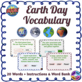 Earth Day Vocabulary Boom Cards™ (Distance Learning)