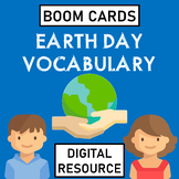 Earth Day Vocabulary Boom Cards Distance Learning
