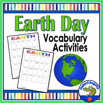 Earth Day Activity: Vocabulary