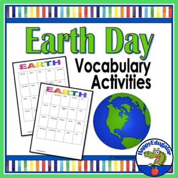 Earth Day Activity: Vocabulary