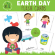 Earth Day Vocabulary Cards - 24 Cards