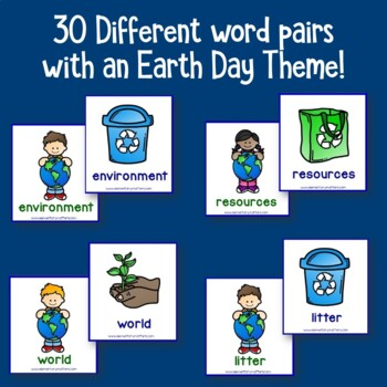 Earth Day Vocabulary Match