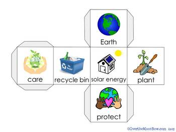 Earth Day Vocabulary On a Roll