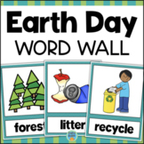Earth Day Word Wall Vocabulary Cards