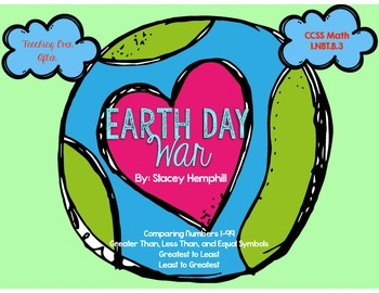 Earth Day War- Comparing Numbers Game 1-99
