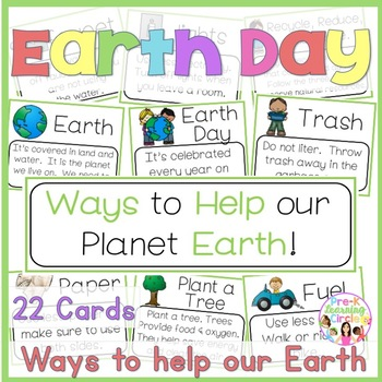 Earth Day(Ways to Help our Planet Earth)