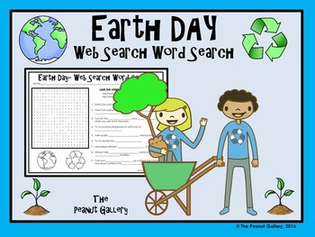 Earth Day Web Search Word Search