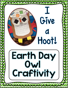 Earth Day Week Activities - We Love the Earth
